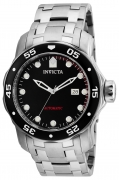 Invicta Men's 23630 Pro Diver Automatic 3 Hand Black Dial Watch