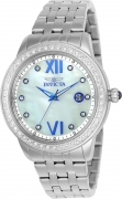 Invicta Women's 23661 Angel Quartz 3 Hand White Dial Watch