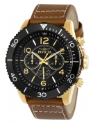 Invicta Men's 24553 Aviator Quartz Multifunction Black Dial Watch