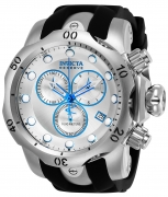 Invicta Men's 24724 Pro Diver Quartz Chronograph Silver Dial Watch