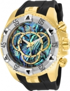 Invicta Men's 25017 Excursion Quartz 3 Hand Blue Dial Watch