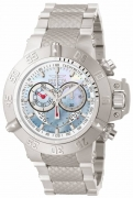 Invicta Men's 4568 Subaqua Quartz Chronograph Platinum Dial Watch