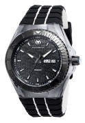 Technomarine Men's TM-115182 Cruise Locker Quartz Black Dial Watch