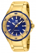 Technomarine Men's TM-215096 Manta Automatic Blue Dial Watch