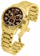 Invicta Men's 10742 Reserve Quartz Chronograph Brown Dial Watch