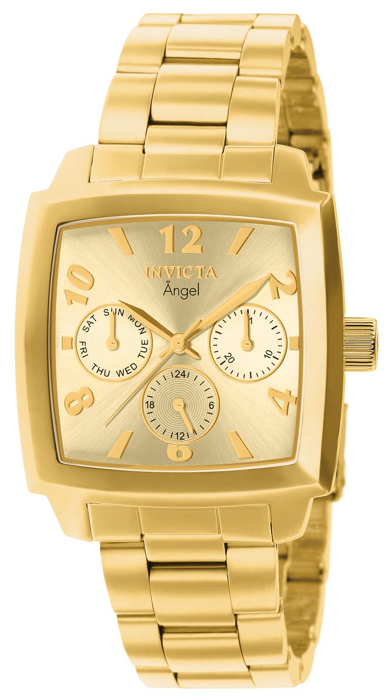 Invicta Women's 12101 Angel Quartz Chronograph Gold Dial Watch at Sears.com