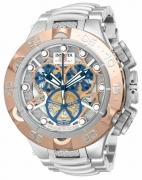 Invicta Men's 12905 Subaqua Analog Display Swiss Quartz Silver Dial Watch