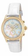 Invicta Women's 12990 Angel Quartz Chronograph White Dial Watch