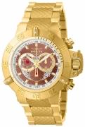 Invicta Men's 14455 Subaqua Quartz Chronograph Copper Dial Watch