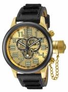 Invicta Men's 14616 Russian Diver Quartz Chronograph Gold Dial Watch