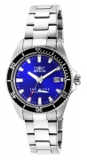Invicta Women's 15136 Pro Diver Quartz 3 Hand Blue Dial Watch