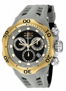 Invicta Men's 16992 Venom Analog Display Swiss Quartz Black Watch