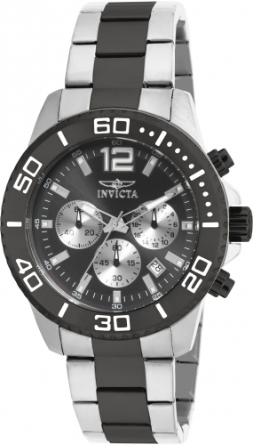 Invicta Men's 17401 Pro Diver Quartz Chronograph Black Dial Watch at Sears.com