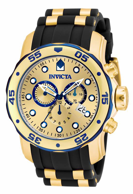 Invicta Men's 17887 Pro Diver Quartz Multifunction Gold Dial Watch at Sears.com