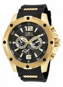 Invicta Men's 19658 I-Force Quartz Chronograph Black Dial Watch