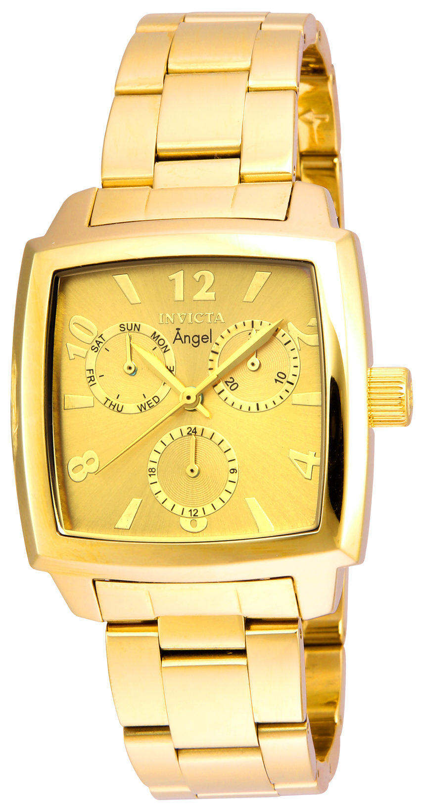 Invicta Women's 21710 Angel Quartz Chronograph Gold Dial Watch