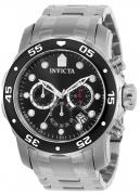 Invicta Men's 21920 Pro Diver Quartz Multifunction Black Dial Watch