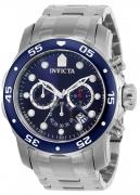 Invicta Men's 21921 Pro Diver Quartz Multifunction Blue Dial Watch