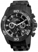 Invicta Men's 22338 Pro Diver Quartz Chronograph Black Dial Watch