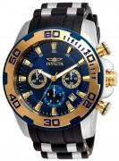 Invicta Men's 22339 Pro Diver Quartz Chronograph Blue Dial Watch