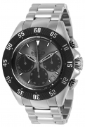Invicta Men's 22394 Speedway Quartz Chronograph Gunmetal, Black Dial Watch