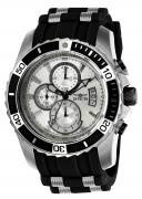 Invicta Men's 22428 Pro Diver Quartz Multifunction Silver Dial Watch