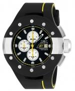 Invicta Men's 22435 S1 Rally Quartz Multifunction Black Dial Watch