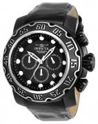 Invicta Men's 22485 Lupah Quartz Chronograph Black Dial Watch