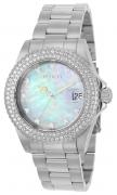 Invicta Women's 22730 Disney Quartz 3 Hand White Dial Watch
