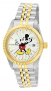 Invicta Women's 22776 Disney Quartz 3 Hand Silver Dial Watch