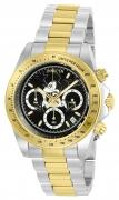 Invicta Men's 22866 Disney Quartz 3 Hand Black Dial Watch