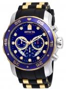 Invicta Men's 22971 Pro Diver Quartz Multifunction Blue Dial Watch