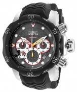 Invicta Men's 23164 Disney Quartz Chronograph Gunmetal, Black Dial Watch