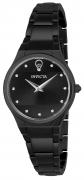 Invicta Women's 23280 Gabrielle Union Quartz 2 Hand Black Dial Watch