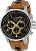 Invicta Men's 23597 S1 Rally Quartz Chronograph Black Dial Watch