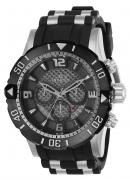 Invicta Men's 23698 Pro Diver Quartz Chronograph Grey Dial Watch