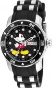 Invicta Women's 23770 Disney Quartz 3 Hand Black Dial Watch