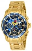 Invicta Women's 24130 Disney Quartz Chronograph Black Dial Watch