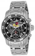 Invicta Women's 24132 Disney Quartz Chronograph Black Dial Watch