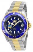 Invicta Men's 24397 Disney Automatic 3 Hand Blue Dial Watch