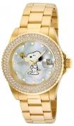 Invicta Women's 24809 Character  Quartz 3 Hand White Dial Watch
