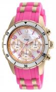 Invicta Women's 24900 Angel Quartz Chronograph White Dial Watch