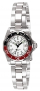 Invicta Women's 7062 Signature Quartz 3 Hand White Dial Watch