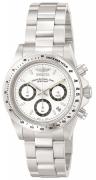 Invicta Men's 9211 Speedway Quartz Chronograph White Dial Watch