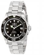 Invicta Men's 9307 Pro Diver Quartz 3 Hand Black Dial Watch