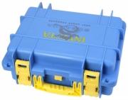 Collectors Box 8 Slot-Blue/Yellow