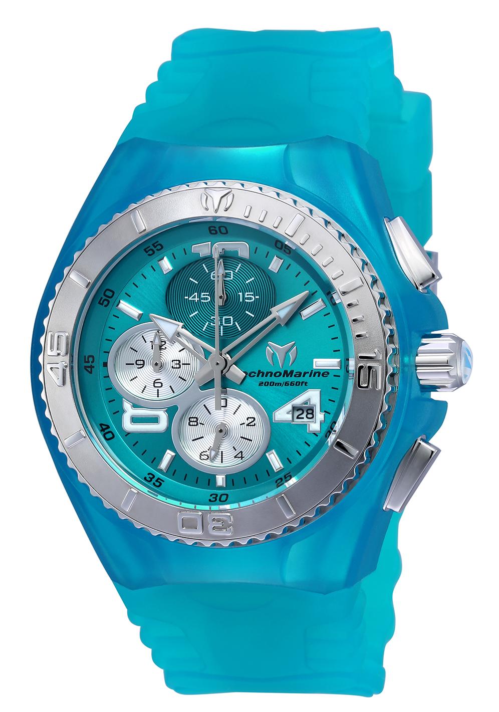 TR Women's TM-115106 Cruise JellyFish Quartz Turquoise Dial Watch