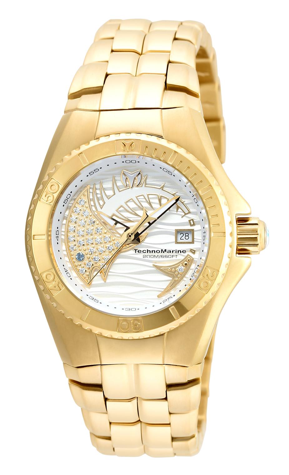 Technomarine Women's TM-115203 Cruise Dream Quartz White Dial Watch