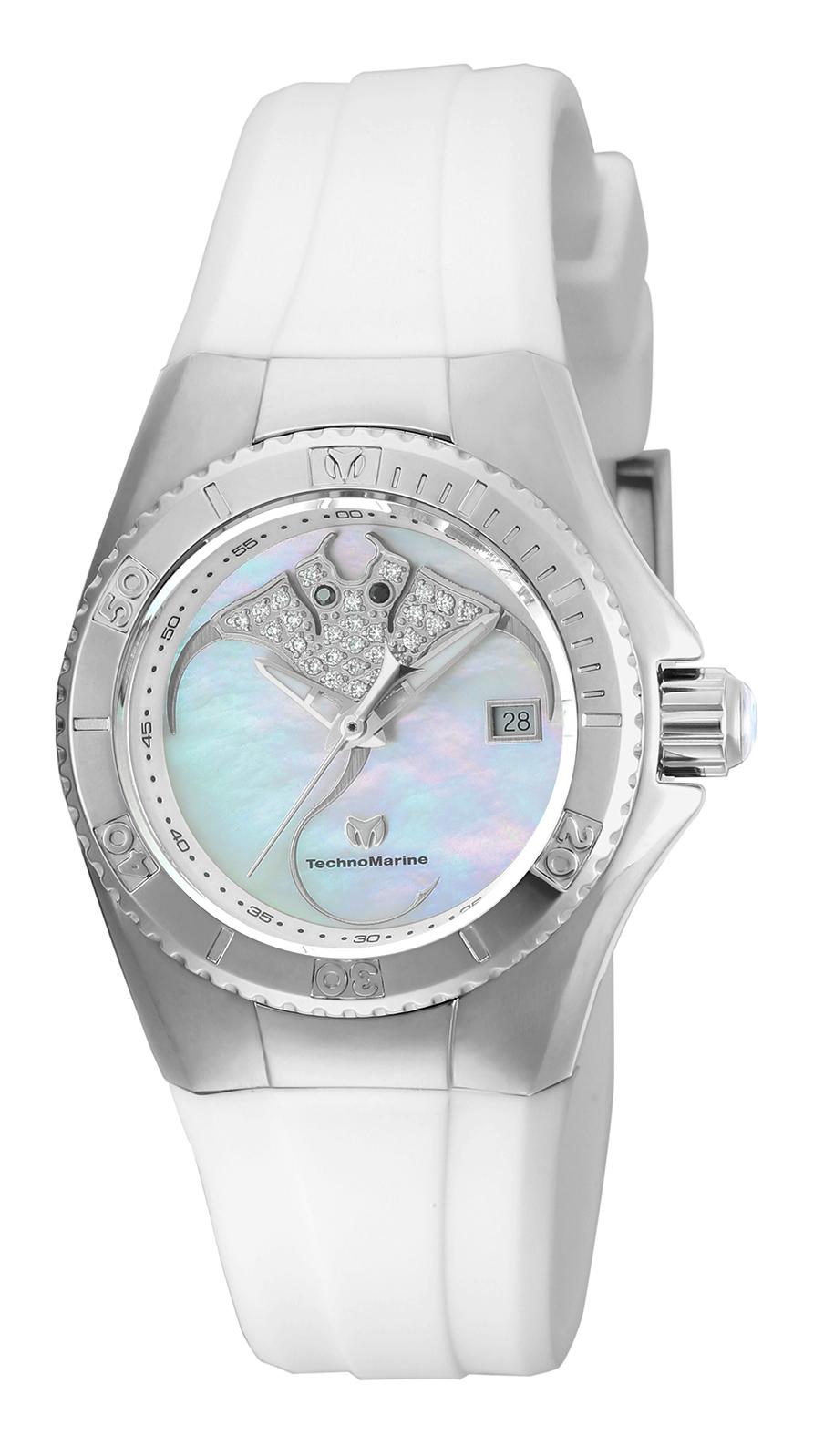 Technomarine Women's TM-115253 Cruise Dream Quartz White Dial Watch