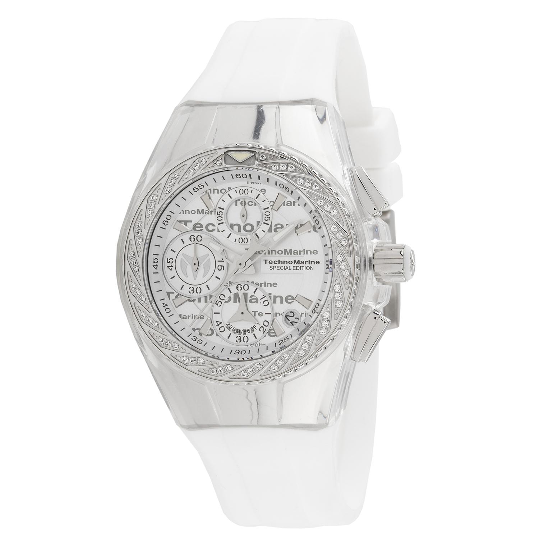 Technomarine Women's TM-115383 Cruise Original Quartz Silver Dial Watch